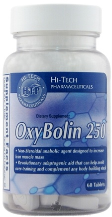 DROPPED: Hi-Tech Pharmaceuticals - OxyBolin 250 - 60 Tablets