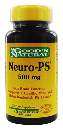 DROPPED: Good 'N Natural - Neuro-PS 500 mg. - 30 Softgels