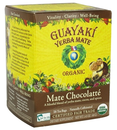 Zoom View - Yerba Mate Chocolatte 100% Organic