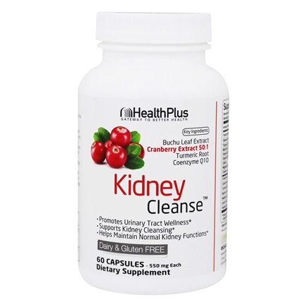Health Plus - Super Kidney Cleanse - 90 Capsules