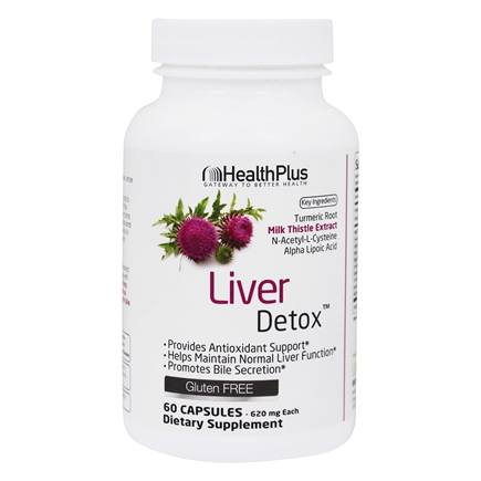 Health Plus - Super Liver Cleanse - 90 Capsules