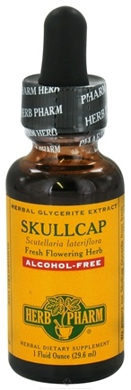 DROPPED: Herb Pharm - Skullcap Glycerite Extract - 1 oz. CLEARANCE PRICED