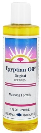 DROPPED: Heritage - Egyptian Oil - 8 oz. CLEARANCE PRICED