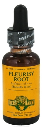 DROPPED: Herb Pharm - Pleurisy Root  Extract - 1 oz. CLEARANCE PRICED