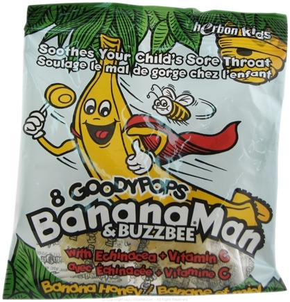 Zoom View - Kids Goodypops Banana Man