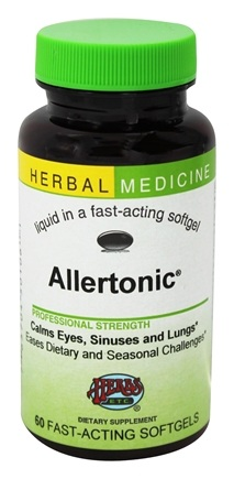 DROPPED: Herbs Etc - Allertonic Alcohol Free - 60 Softgels