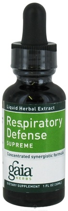 DROPPED: Gaia Herbs - Respiratory Defense Supreme - 1 oz. CLEARANCE PRICED