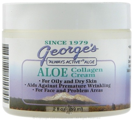 DROPPED: George's Aloe - Aloe Collagen Cream - 2 oz. CLEARANCED PRICED