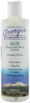 DROPPED: George's Aloe - Aloe Hand & Body Lotion for Normal/Dry Skin - 8 oz.