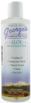 Zoom View - Aloe Mentholated Rub