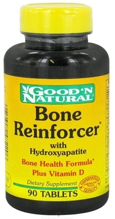 DROPPED: Good 'N Natural - Bone Reinforcer With Hydroxyapatite - 90 Tablets CLEARANCE PRICED