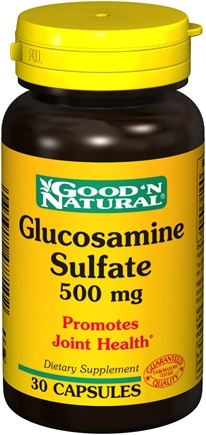 DROPPED: Good 'N Natural - Glucosamine Sulfate 500 mg. - 30 Capsules