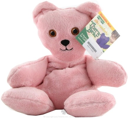 Zoom View - Thera Bear Pink Plush