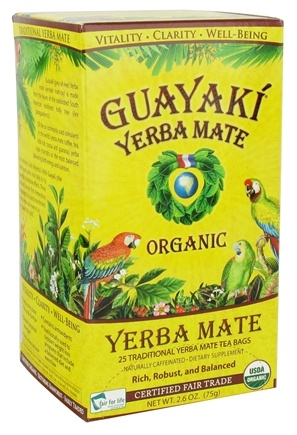 Zoom View - Yerba Mate Traditional Tea Bags 100% Organic