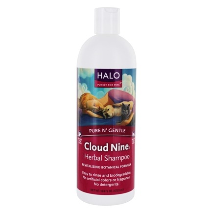 DROPPED: Halo Purely for Pets - Cloud Nine Herbal Shampoo - 16 oz.