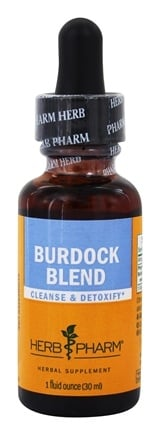 DROPPED: Herb Pharm - Burdock Blend Extract - 1 oz. CLEARANCE PRICED