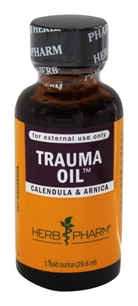 Herb Pharm - Trauma Oil Compound - 1 oz.