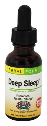 Herbs Etc - Deep Sleep Professional Strength - 1 oz. Contains California Poppy