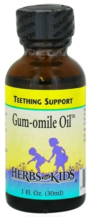 DROPPED: Herbs for Kids - Gum-omile Oil - 1 oz. CLEARANCE PRICED