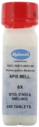 DROPPED: Hylands - Apis Mellifica 6 X - 250 Tablets CLEARANCE PRICED