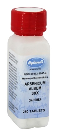 DROPPED: Hylands - Arsenicum Album 30 X - 250 Tablets