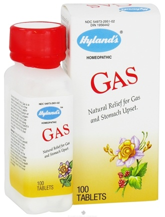DROPPED: Hylands - Gas - 100 Tablets