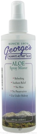 George's Aloe - Aloe Spray Mister - 8 oz.