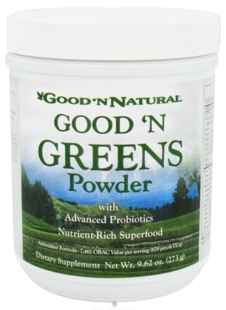 DROPPED: Good 'N Natural - Good 'N Greens Powder - 9.62 oz. CLEARANCE PRICED
