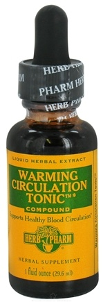 DROPPED: Herb Pharm - Warming Circulation Tonic Compound - 1 oz. CLEARANCE PRICED