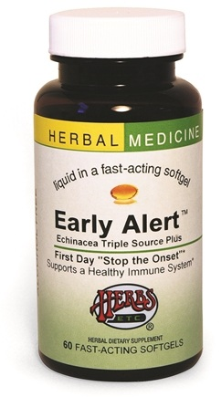 DROPPED: Herbs Etc - Early Alert ( Echinacea Triple Source Plus) - 30 Softgels