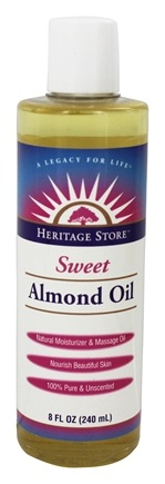 DROPPED: Heritage - Sweet Almond Oil - 8 oz.