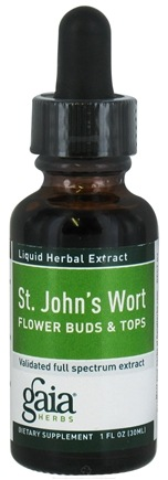 DROPPED: Gaia Herbs - Saint John's Wort Flower Buds - 1 oz. CLEARANCE PRICED