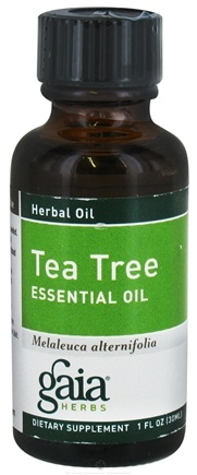 DROPPED: Gaia Herbs - Tea Tree Essential Oil - 1 oz. CLEARANCE PRICED