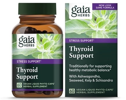 Zoom View - Thyroid Support Liquid Phyto Capsules