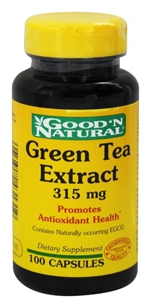 DROPPED: Good 'N Natural - Green Tea Extract 315 mg. - 100 Capsules