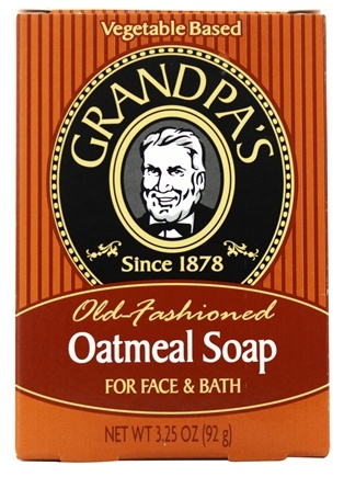 DROPPED: Grandpa's Soap Co. - Old Fashioned Oatmeal Soap For Face & Bath - 3.25 oz.