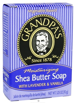 Zoom View - Moisturizing Shea Butter Soap with Lavender & Vanilla
