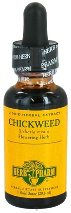 DROPPED: Herb Pharm - Chickweed Extract - 1 oz. CLEARANCE PRICED