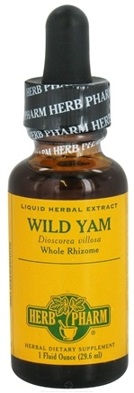 DROPPED: Herb Pharm - Wild Yam Extract - 1 oz.