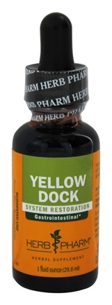DROPPED: Herb Pharm - Yellow Dock Extract - 1 oz.