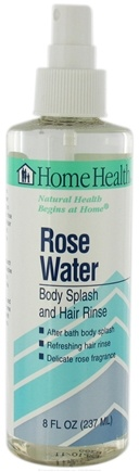 DROPPED: Home Health - Rose Water Body Splash and Hair Rinse - 8 oz. CLEARANCE PRICED