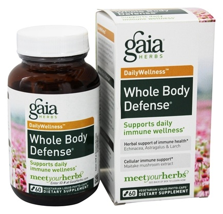 Gaia Herbs - Whole Body Defense - 60 Capsules