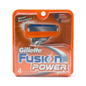 DROPPED: Gillette - Fusion Power Razor Replacement Cartridges