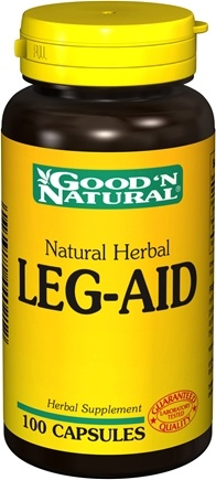 DROPPED: Good 'N Natural - Herbal Leg-Aid - 100 Capsules