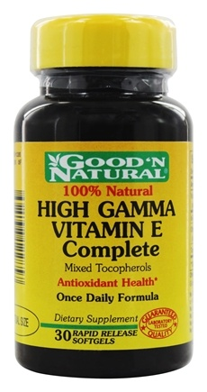 DROPPED: Good 'N Natural - High Gamma Vitamin E Complete - 30 Softgels