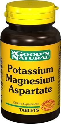 DROPPED: Good 'N Natural - Potassium Magnesium Aspartate - 60 Tablets