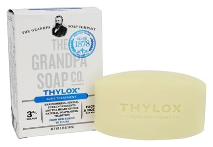 Grandpa's Soap Co. - Thylox Acne Treatment Soap with Sulfur - 3.25 oz.
