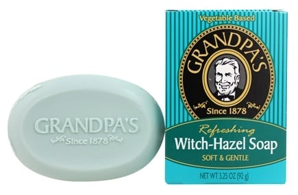 DROPPED: Grandpa's Soap Co. - Refreshing Witch Hazel Soap Soft & Gentle - 3.25 oz.