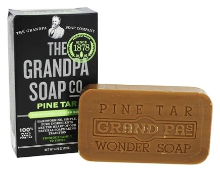 The Grandpa Soap Co. - The Original Wonder Pine Tar Soap - 4.25 oz.