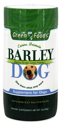 DROPPED: Green Foods - Barley Dog - 3 oz.